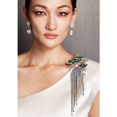 La Maison Mikimoto est heureuse d'annoncer le lancement de sa nouvelle collection de haute joaillerie « The Japanese Sense of Beauty »