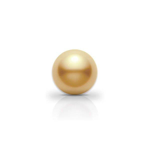 Perle de culture dorée ou gold des mers du Sud