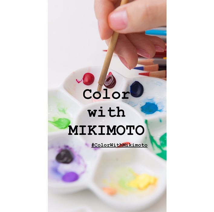 Coloriez avec la Maison Mikimoto